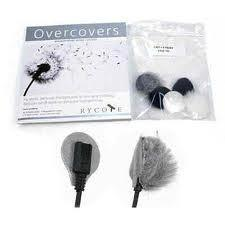 Rycote Overcovers - Lavalier Wind Cover and Adhesive Mount