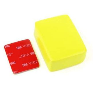 SJCAM Floaty Sponge for Action Camera with 3M Sticker (Yellow)