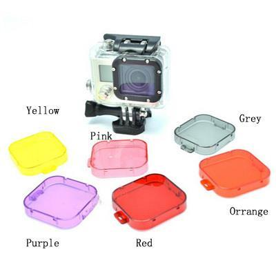 SJCAM Under Water Diving Filters for SJ4000 and GoPro Hero 3